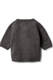 Wilson and Frenchy Knitted Zip Up Cardigan - Front full body