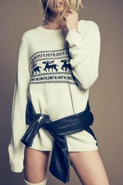 Knitz For Love & Lemons Alpine Pullover - Alternate List Image