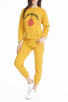 Michelle by Comune Knock Out Sweats - Alternate List Image