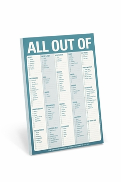 Knock Knock  All Out Of Pad - Product List Image