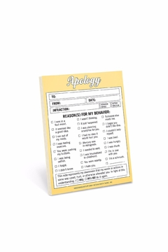Shoptiques Product: Apology Nifty Notes