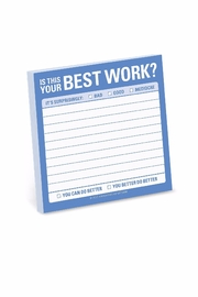 Knock Knock  Best Work Stickies - Product Mini Image