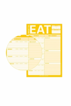 Knock Knock  Eat Pad - Alternate List Image