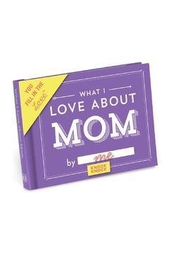 Shoptiques Product: Fill-In Mom Book