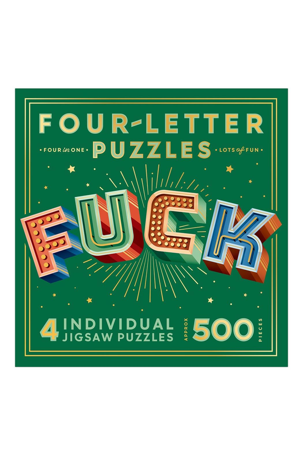Knock Knock  Fuck Puzzle - Front Full Image