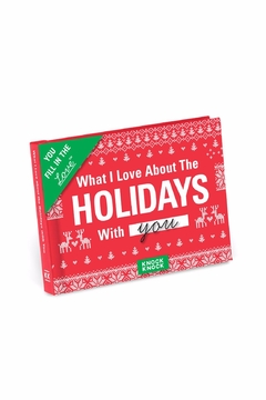 Shoptiques Product: Holiday Love Fill-In-Book