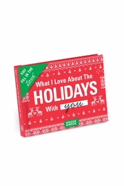Knock Knock  Holiday Love Fill-In-Book - Front cropped