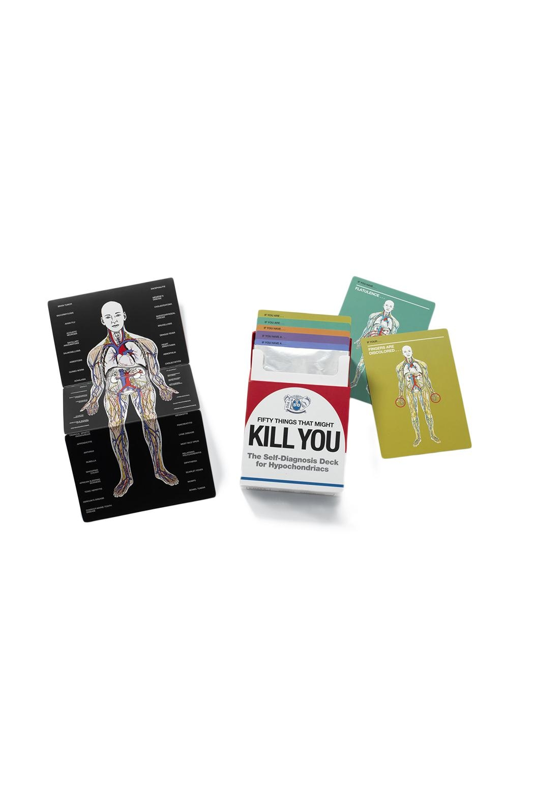 Knock Knock  Kill You Cards - Front Full Image
