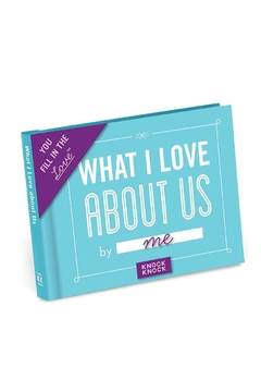 Knock Knock  Love Us Fill In Book - Product List Image