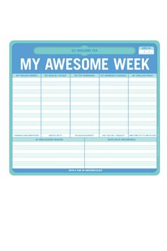 Knock Knock  My Awesome Week Note Pad - Product List Image