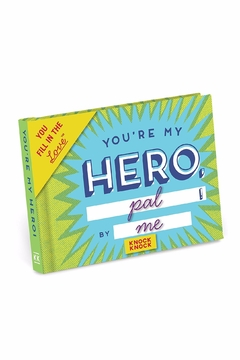 Knock Knock  My Hero Fill In Book - Product List Image