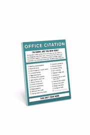 Knock Knock  Office Citations - Product Mini Image