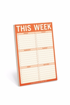 Shoptiques Product: This Week Pad