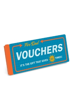 Knock Knock  Vouchers For Dad - Product List Image