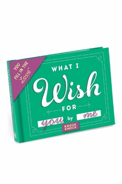 Knock Knock  Wish Fill In Book - Product List Image