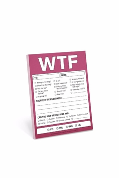 Shoptiques Product: Wtf Nifty Notes