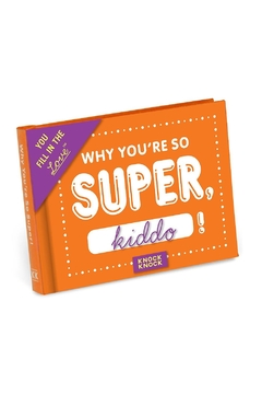 Knock Knock  You're Super Fill In Book - Product List Image