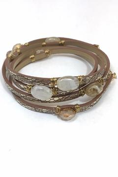 Shoptiques Product: Metallic Wrap Bracelet