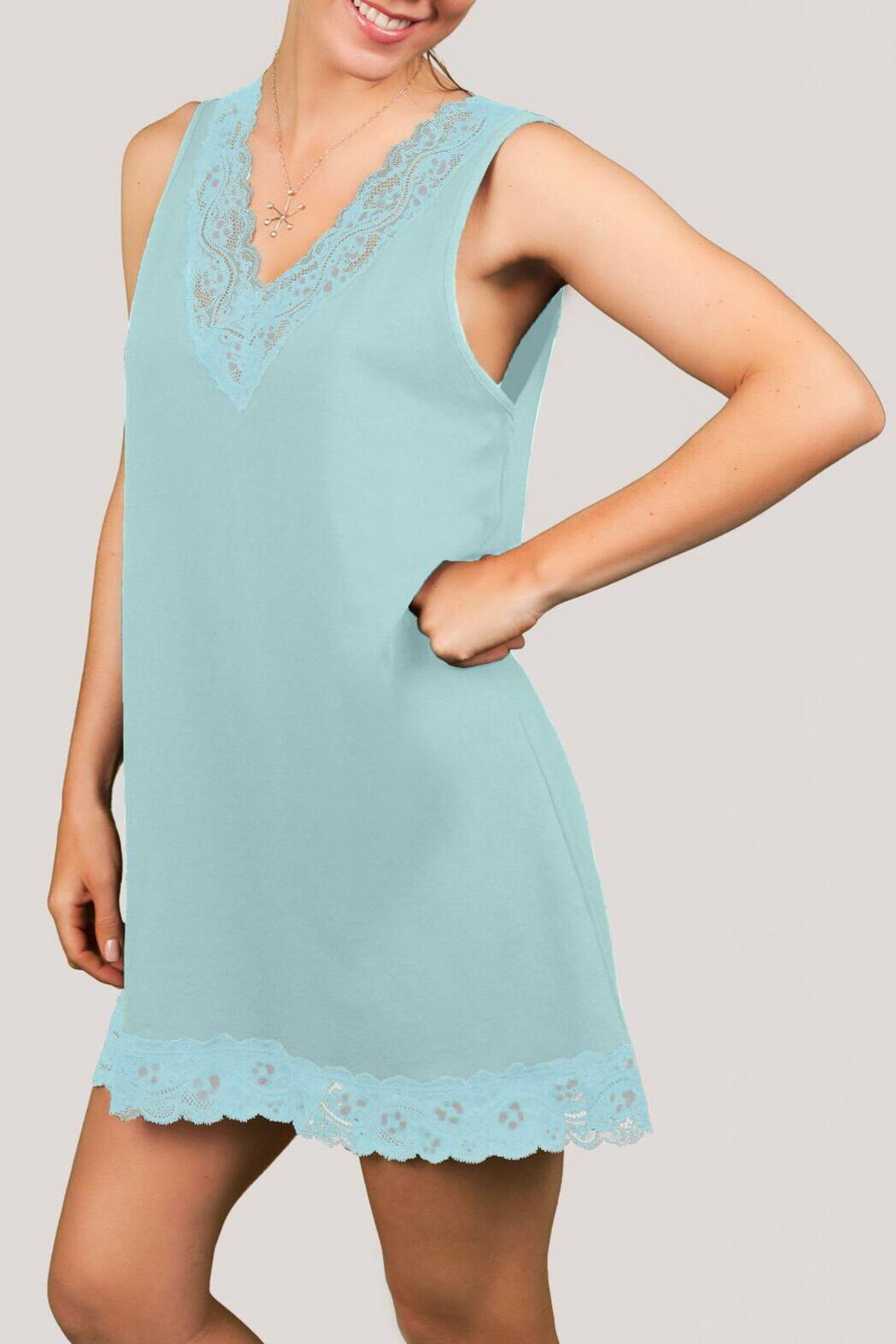 0d469df73fd28 Knock Out! Lacy Chemis Nightgown from Canada by Gaia Boutique ...