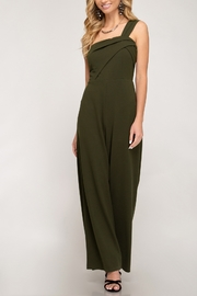She + Sky Knockout Babe Jumpsuit - Front cropped