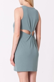 Double Zero Knot Back Dress - Front cropped
