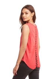 Chaser knot back tee - Product Mini Image