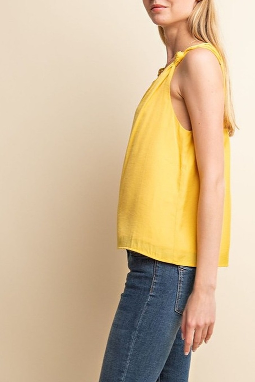 Gilli Knot Detail Tank - Front Full Image
