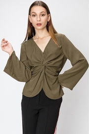 Favlux Knot Front Blouse - Product Mini Image