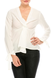 After Market Knot Front Blouse - Product Mini Image