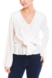 Ark & Co. Knot Front Blouse - Product Mini Image