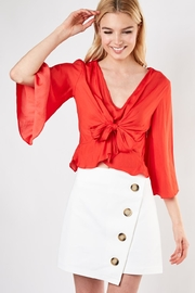 Do & Be Knot Front Blouse - Product Mini Image