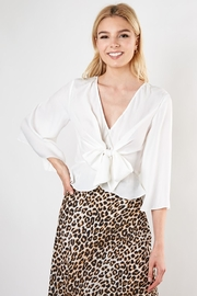 Do & Be Knot Front Blouse - Front cropped