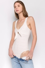 Fore Collection Knot Front Bodysuit - Product Mini Image