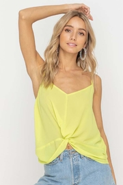 Lush Knot Front Cami - Product Mini Image