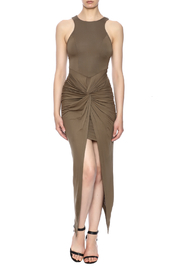 Hot & Delicious Knot Front Dress - Product Mini Image