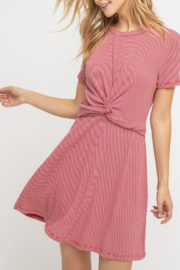 Lush Clothing  Knot Front Dress - Product Mini Image