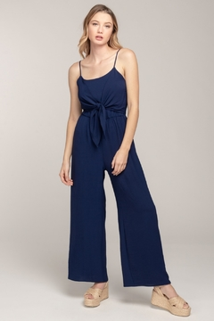 Everly Knot Front Jumpsuit - Product List Image