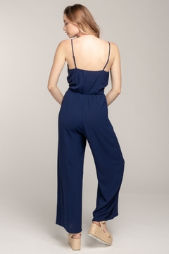 Everly Knot Front Jumpsuit - Alternate List Image