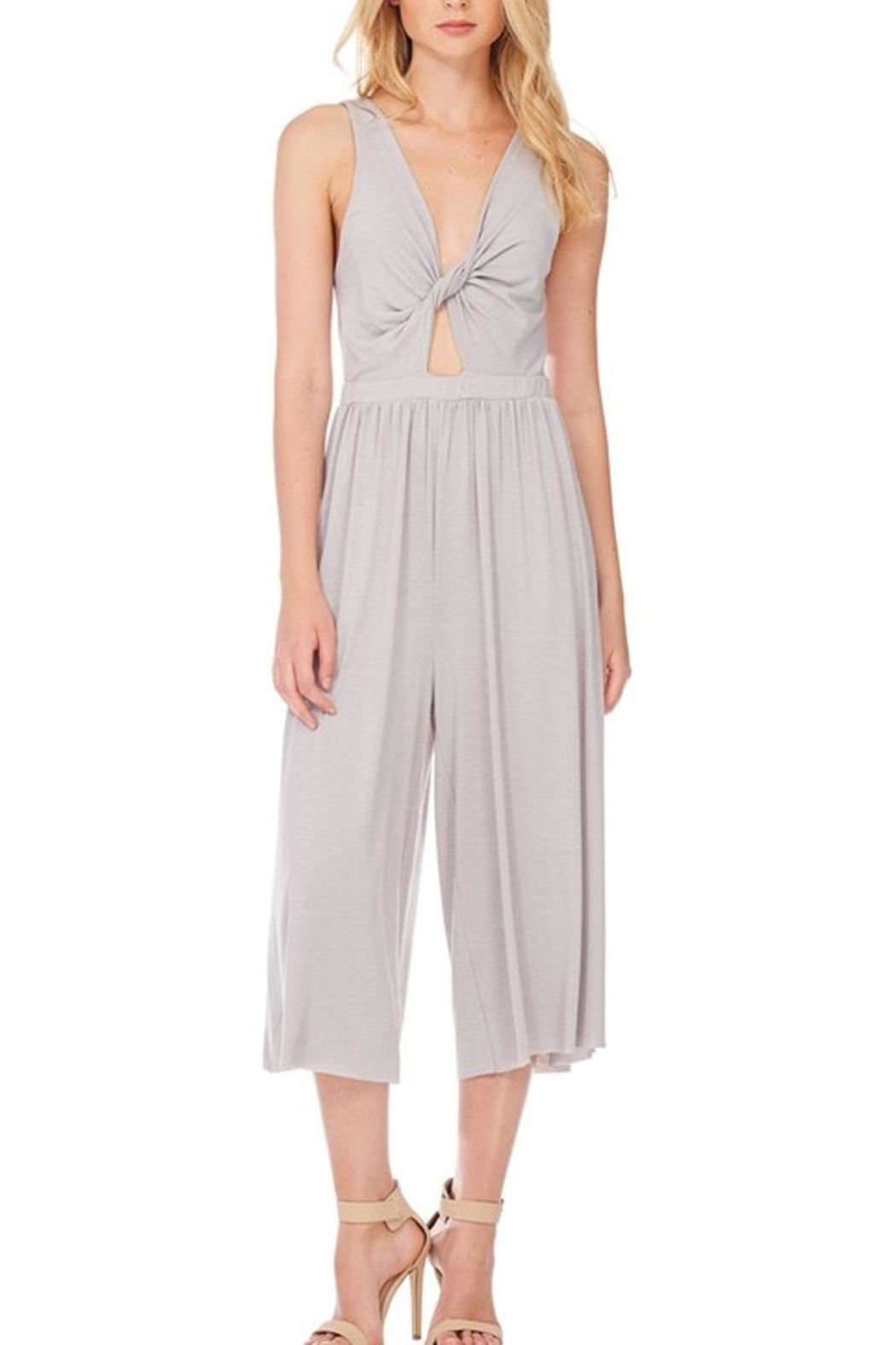 Anama Knot Front Jumpsuit - Main Image