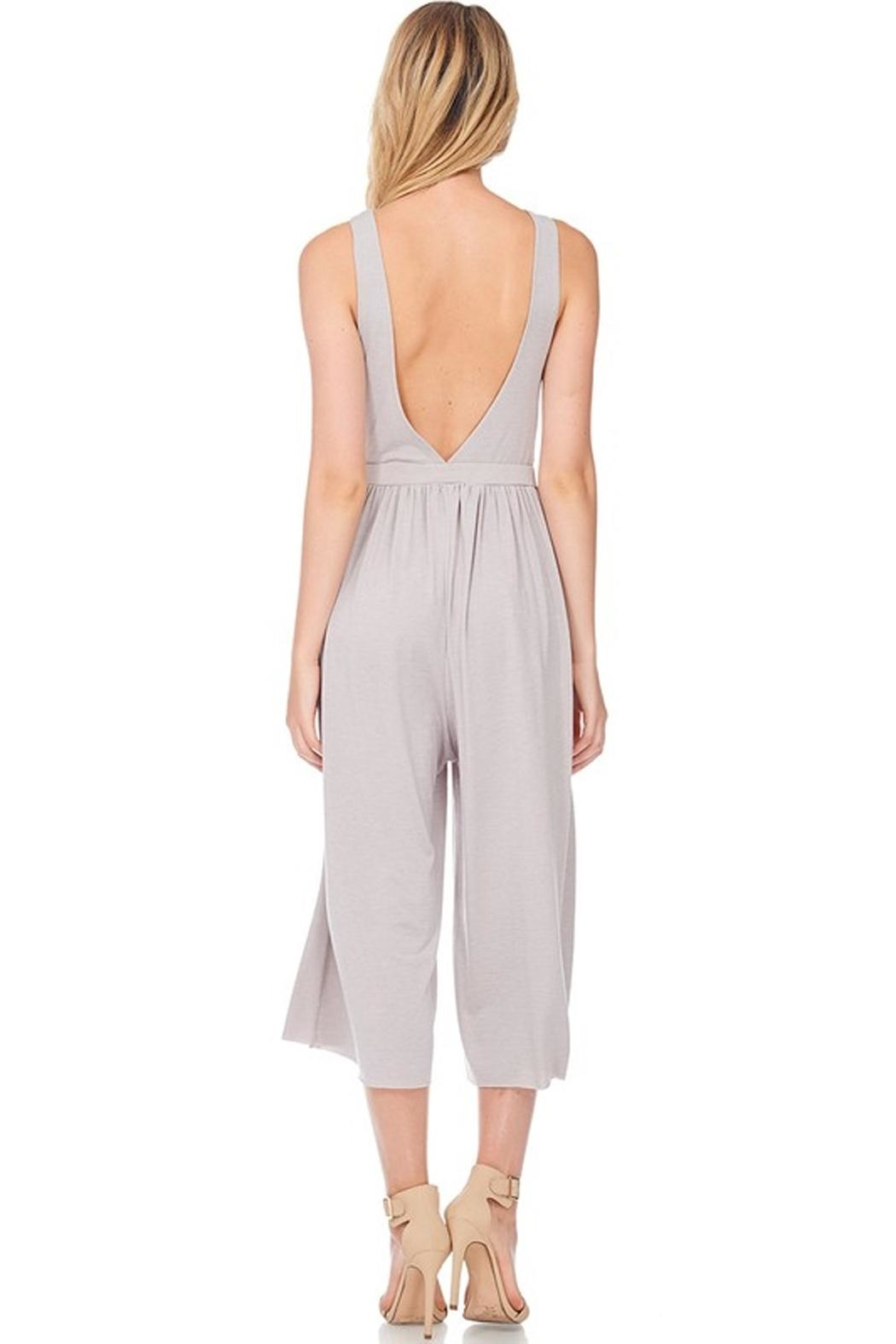 Anama Knot Front Jumpsuit - Front Full Image