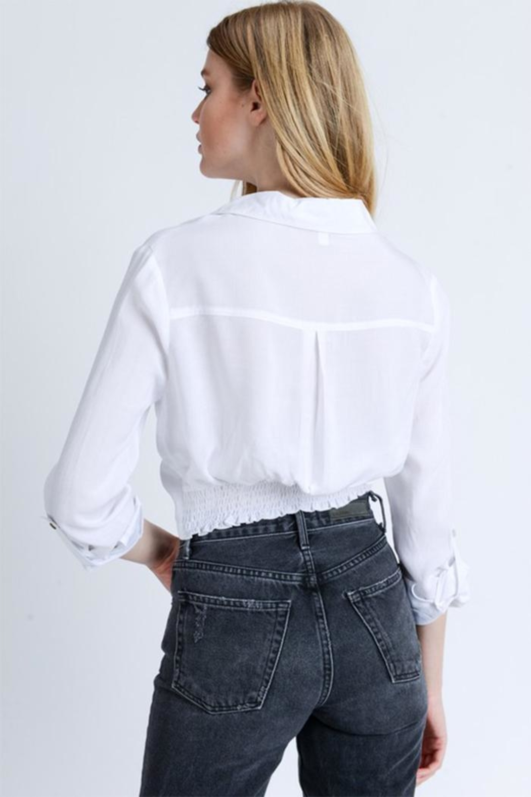 Love Tree Knot Front Shirt - Side Cropped Image