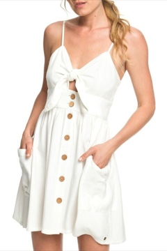 Roxy Knot-Front Strappy Dress - Product List Image