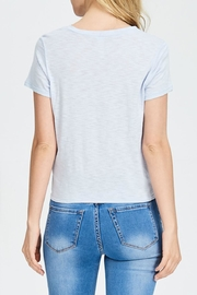 Jolie Knot Front Tee - Front full body
