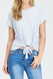 Jolie Knot Front Tee - Product Mini Image