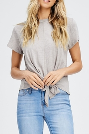 Jolie Knot Front Tee - Front cropped