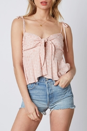 Cotton Candy LA Knot Front Top - Product Mini Image