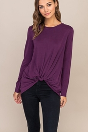Lush Knot Front Top - Product Mini Image