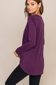 Lush Knot Front Top - Alternate List Image