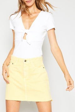Sadie and Sage Knot Front Top - Product List Image