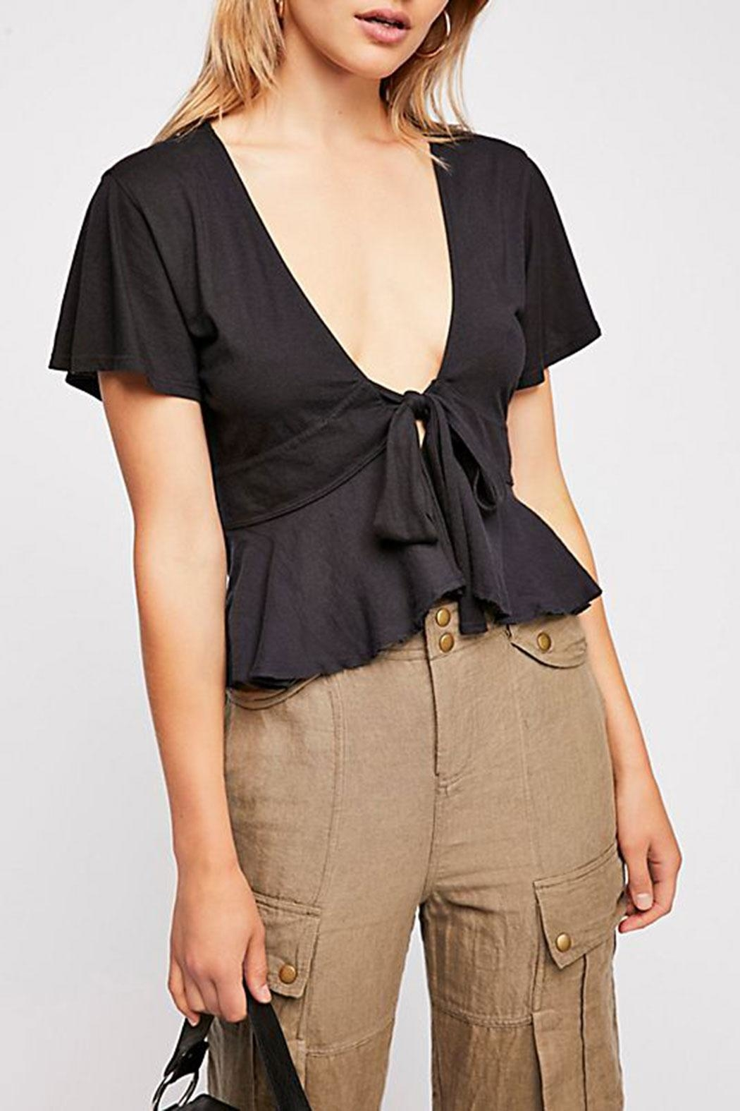 59401b413786 Free People Knot Me Tee from New Jersey by Femmebot — Shoptiques